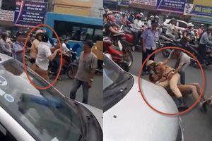 Hà Nội: Lãnh đạo Đội CSGT số 4 lên tiếng về clip quật ngã tài xế taxi