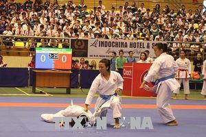 Việt Nam nhất toàn đoàn tại Giải vô địch Karatedo Đông Nam Á 2018
