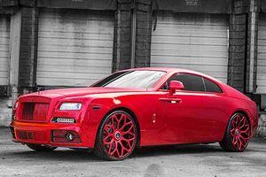 Siêu xe sang Rolls-Royce Wraith đỏ 'như tôm luộc' nhờ Mansory