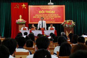 Phú Thọ: Lãnh đạo Sở GD&ĐT đối thoại với cán bộ quản lý, giáo viên và HS