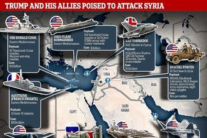 Nga nói chỉ 22 tên lửa Mỹ tấn công Syria đến đích, Mỹ lên tiếng