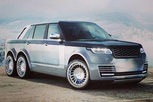 Range Rover bán tải 6 bánh kỳ dị sắp ra mắt