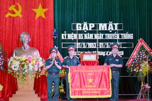 Lữ đoàn 132, Binh chủng Thông tin liên lạc tổ chức gặp mặt Ngày truyền thống
