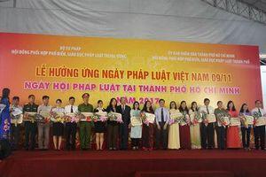 TP.HCM: Nhiều mô hình mới, cách làm hay, sáng tạo hưởng ứng Ngày Pháp luật Việt Nam