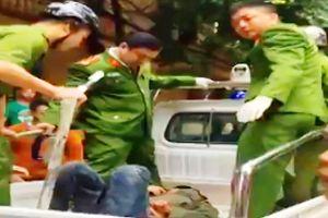 Công an Thanh Hóa nổ súng, giải cứu cô gái từ đối tượng 'ngáo đá'