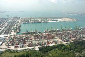 Cảng biển - một phần quan trọng của hệ thống logistics Singapore
