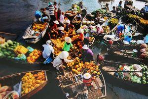 Chợ nổi Cái Răng- Cần Thơ, địa điểm du lịch hấp dẫn cho nghỉ lễ 30/04- 01/05!