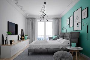 Nét độc đáo trong ngôi nhà có nội thất màu xanh lam