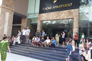 Cháy chung cư cao cấp ở Đà Nẵng, hàng trăm người bỏ chạy