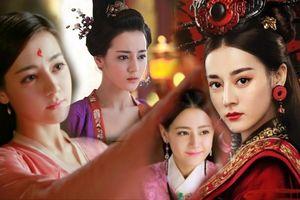 Dù sở hữu gương mặt 'Tây' nhưng tạo hình cổ trang của Địch Lệ Nhiệt Ba vẫn dịu dàng đậm chất Á Châu
