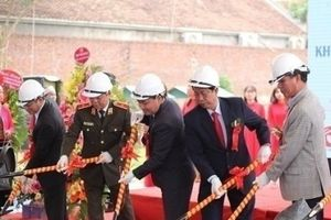 PSD Group khởi công Khu Trưng bày và Tuyên truyền tác hại về ma túy tại Long Việt - Ba Vì
