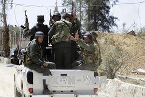 Quân đội Syria tiến hành 70 trận không kích vào các vị trí phiến quân