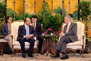 Kết nối kinh tế - điểm nhấn chuyến công du Singapore của Thủ tướng