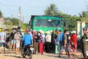 Chặn xe chở cát 7 phụ nữ ở Tây Ninh phải ra tòa