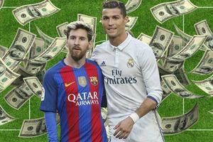 Messi cán mốc thu nhập 100 triệu euro trong một mùa giải