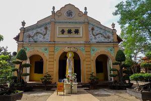 Độc đáo ngôi chùa trăm tuổi ở Tây Ninh