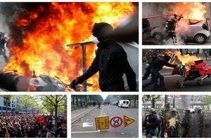Biểu tình ngày Quốc tế Lao động biến thành bạo động ở Paris, 6 cảnh sát bị thương