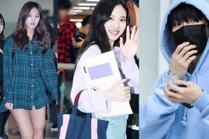 Dàn sao Hàn ăn mặc bình dân vẫn hợp thời trang tại sân bay