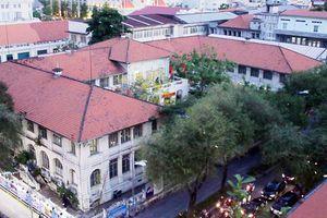 Cận cảnh Dinh Thượng Thư trong tranh cãi đập bỏ mở rộng trụ sở UBND TP.HCM