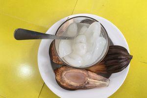 Nhớ ly dừa nước đá đường của nội