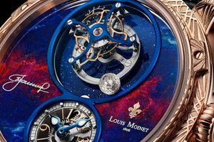 Cả thế giới chỉ có 12 chiếc, đồng hồ Louis Moinet Space Walker có gì đặc biệt?