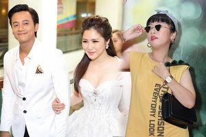 Trước mặt Hương Tràm, Trang Hý tỏ tình với Mai Tài Phến tại buổi ra mắt phim 'Em gái mưa'