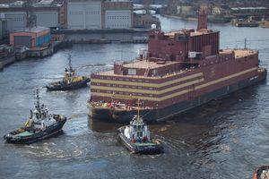 Nga sắp vận hành nhà máy điện hạt nhân di động đầu tiên