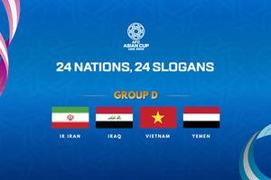 Bảng xếp hạng VCK Asian Cup 2019 của ĐT Việt Nam