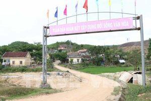 Đảm bảo cuộc sống người dân di dời cho dự án hồ chứa nước Đồng Mít