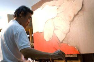 Họa sĩ Nguyễn Thanh Bình và 15 năm dựng sa bàn xe lửa