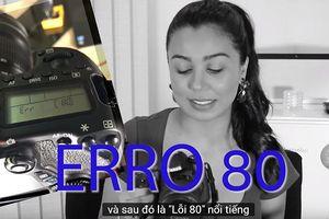 Máy ảnh Canon EOS 70D 'đột tử': Tại hãng hay tại người dùng?