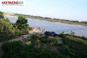 Quảng Ngãi: Cát tặc lộng hành tại sông Trà Khúc, chính quyền bất lực