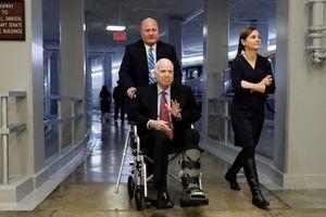 Tổng thống Donald Trump không được mời dự tang lễ John McCain