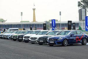 Triệu hồi gần 7.000 xe sang Mercedes tại Việt Nam