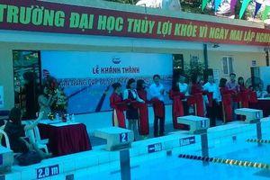 Khánh thành bể bơi hiện đại Trường Đại học Thủy lợi