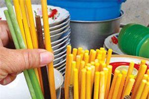 Tiềm ẩn nguy cơ ung thư từ đũa nhựa, đũa gỗ và đũa inox