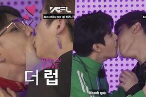 Fan phấn khích tột độ với khoảnh khắc truyền giấy bằng môi 'trụy tim' của iKON