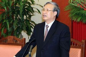 Ông Trần Quốc Vượng giữ chức Thường trực Ban Bí thư thay ông Đinh Thế Huynh