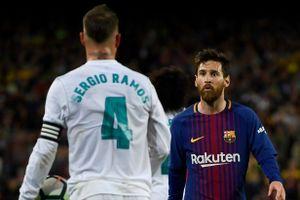 Ramos: 'Messi đã trao đổi riêng để gây sức ép với trọng tài'