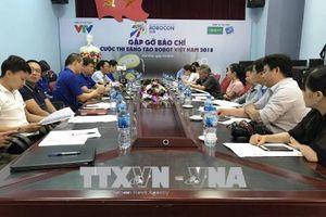 Vòng chung kết Robocon Việt Nam năm 2018: Có 32 đội có mặt tại Vĩnh Phúc