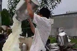 Nông dân đổ sữa tại Nghệ An, Vinamilk lên tiếng