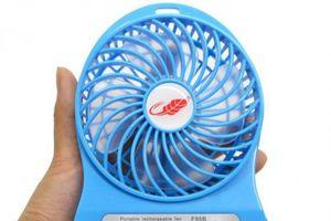 Hà Nội vừa vào mùa nóng, thiết bị làm mát mini giá mềm đắt hàng