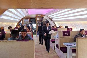 Nhà hàng độc đáo bên trong máy bay Airbus A320