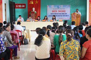 Đẩy mạnh hỗ trợ phụ nữ vùng biển phát triển kinh tế