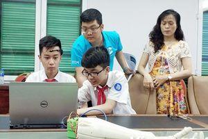 STEM 2018: Giúp học sinh 'chạm' vào cách mạng công nghiệp 4.0