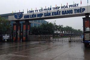 Cháy nhà máy thép Hòa Phát, 3 công nhân tử vong