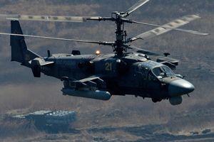 Máy bay trực thăng của Nga rơi tại miền đông Syria