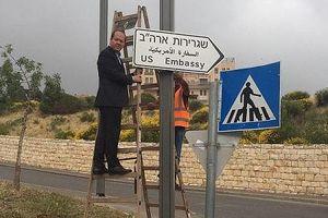 Israel chuẩn bị cho lễ khai trương Đại sứ quán Mỹ ở Jerusalem