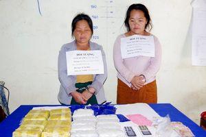 Biên phòng Thanh Hóa bắt 2 đối tượng vận chuyển 34 nghìn viên ma túy