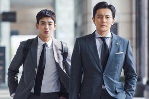 Jang Dong Gun và Park Hyung Sik ngày càng thân thiết trong 'Suit'